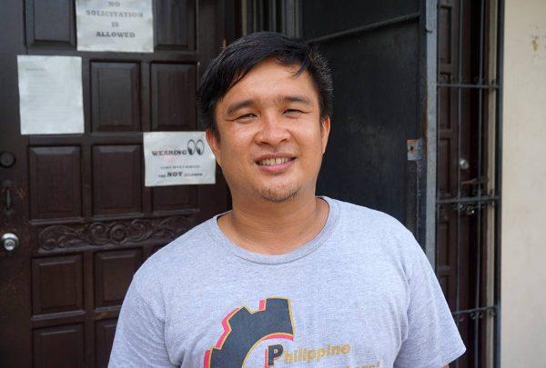 Filippiililäinen metallityöntekijöiden liiton aktiivi