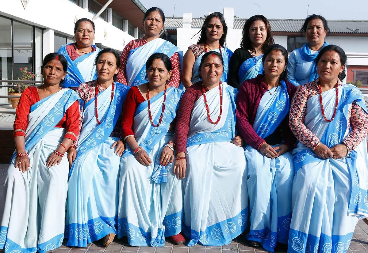 Nepalin vapaaehtoisia terveyssisaria