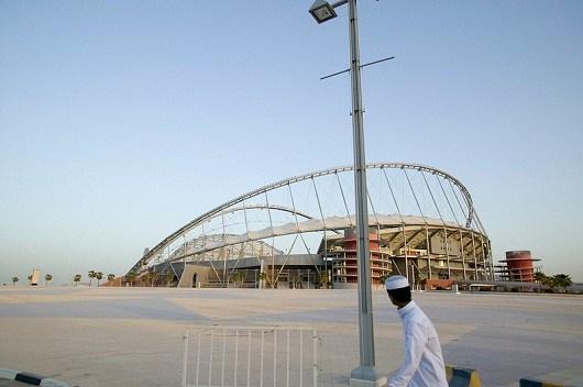 Siirtotyöntekijä Qatarissa