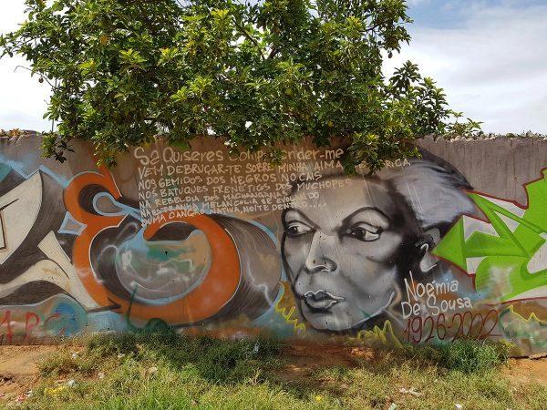 Graffiti Mosambikissa