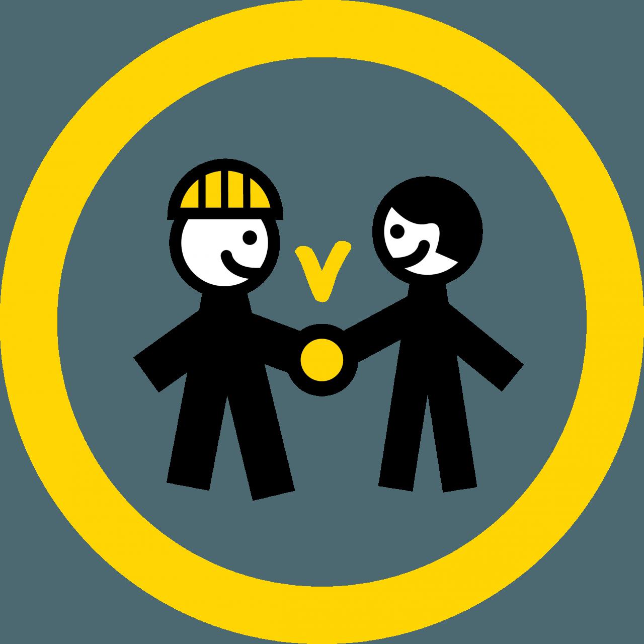 Symbolikuva: sopimuksen teko kättelemällä