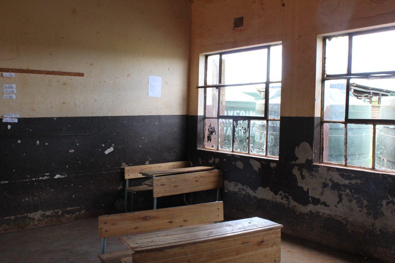 Eswatinilainen luokkahuone